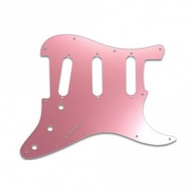 Old Style 11 Hole Strat - Pink Mirror