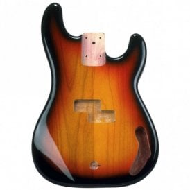 P Bass Body 3 Tone Sunburst