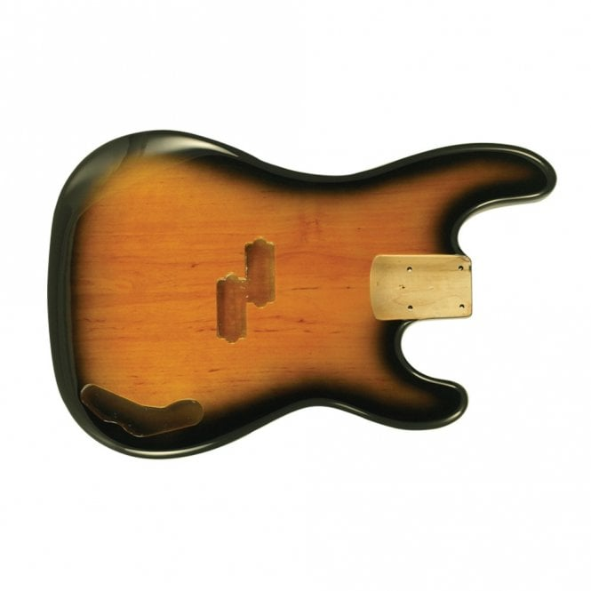 WD Music P Bass Body Tobacco Sunburst (2 Tone)