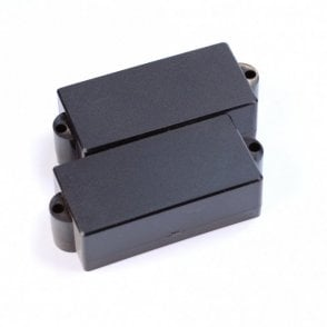 P Bass Pickup Cover Closed Black