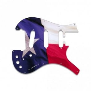 Parker Nitefly V1 (Three Single Coils) - Texas Flag