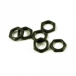 Pot Nut Black (Bag of 6)