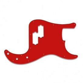 Precision Bass Mexican Standard or Deluxe -  Red / White / Red