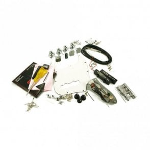 Replacement Jazz Bass Parts Kit Chrome