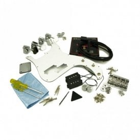 Replacement P Bass Parts Kit Chrome