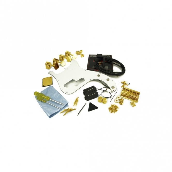 WD Music Replacement P Bass Parts Kit Gold