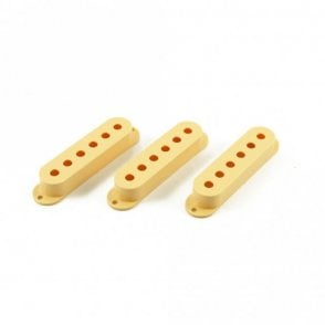 Single Coil Pickup Cover Cream (Set of 3)