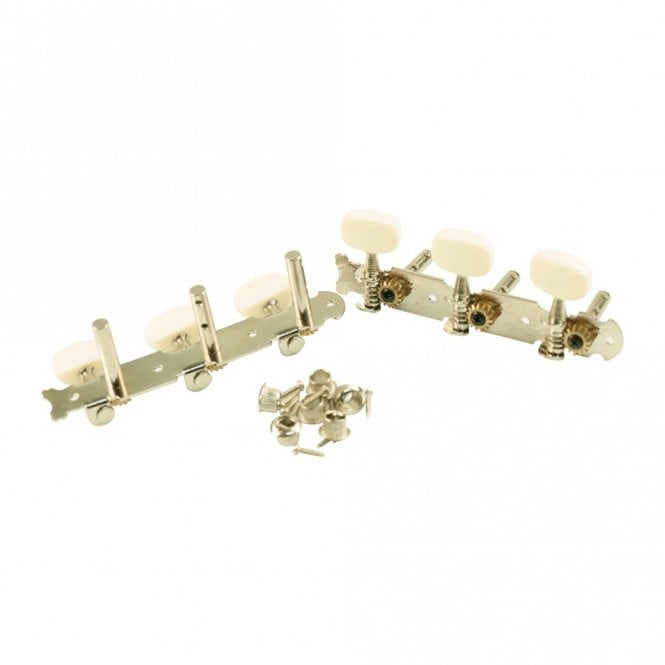 WD Music Steel String Tuners 3 On a Plate Economy