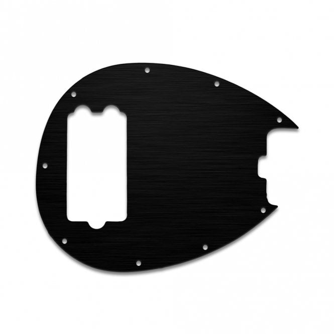 WD Music Sterling Bass - Simulated Black Anodised Thin (no bevel)