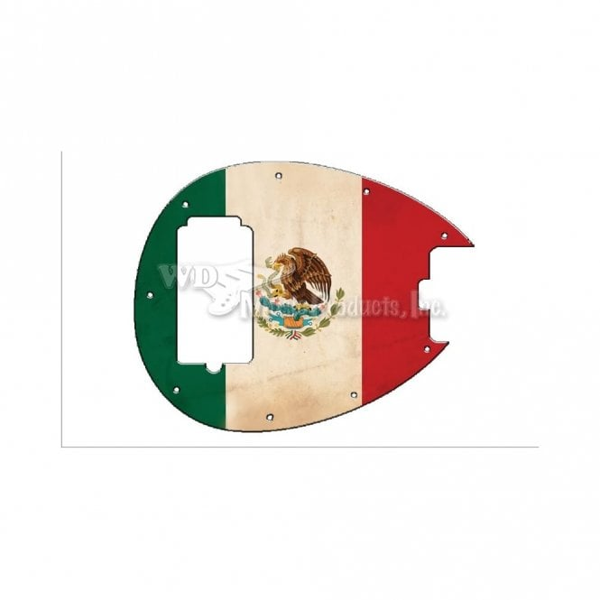 WD Music Sterling By Musicman SB14 (2010) - Mexican Flag Relic