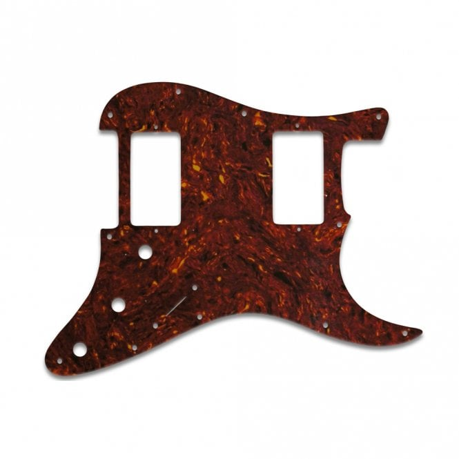 WD Music Strat 2 Hums - Single Ply .070 Tortoise Shell
