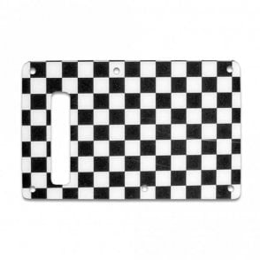 Strat Backplate - Checkerboard