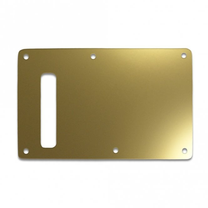 WD Music Strat Backplate - Gold Mirror