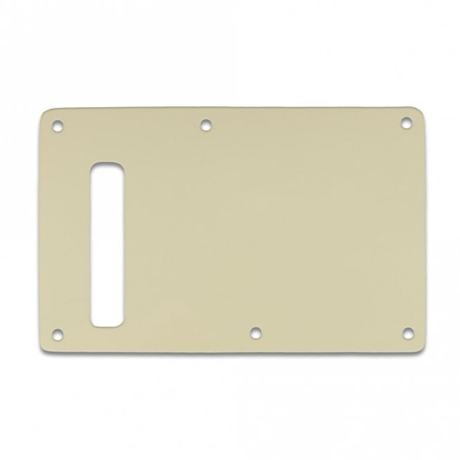 WD Music Strat Backplate - Parchment 3 Ply
