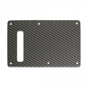 Strat Backplate - Simulated Carbon Fiber