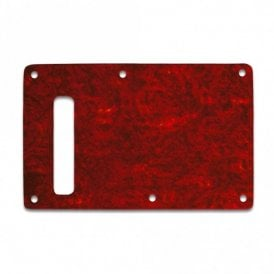 Strat Backplate - Tortoise Red