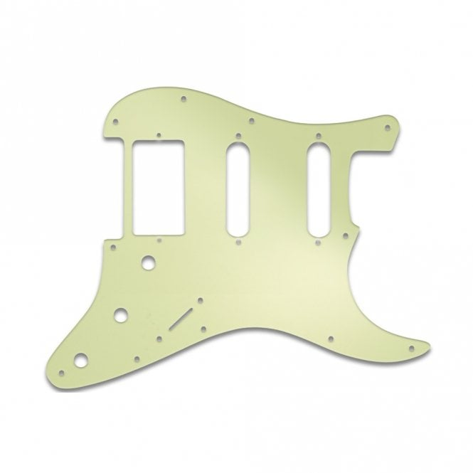 WD Music Strat Humbucker Single Single  - Mint Green 3 Ply