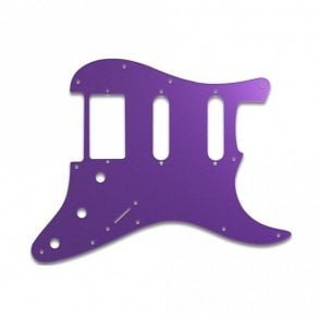 Strat Humbucker Single Single - Purple Mirror
