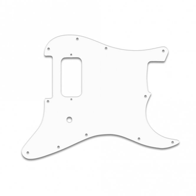 WD Music Strat Tom Delonge - White