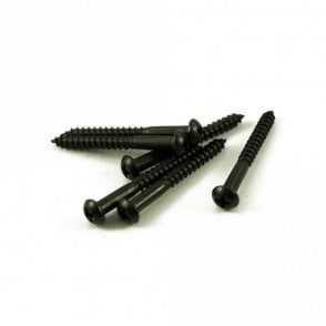Strat Tremolo Screw Black (Bag of 6)