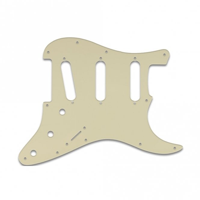 WD Music Strat Voodoo - Parchment Solid