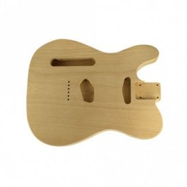 Tele body alder unfinished-left handed