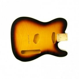 Tele body flame bound tobacco sunburst