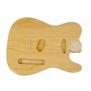Tele body swamp ash clear