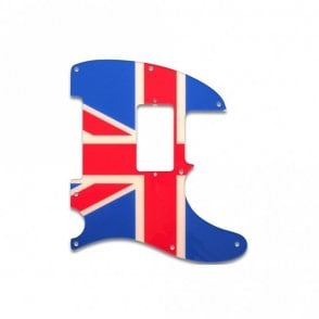 Tele Humbucker British Flag