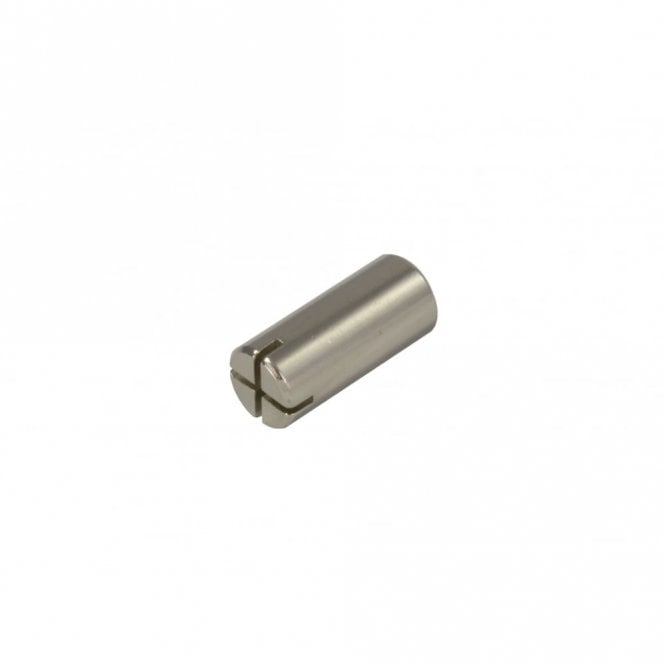 WD Music Trussrod Nut Cylinder Nickel Slotted
