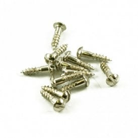 Tuning Machine Screw Slot Head Nickel (Bulk Bag of 100)