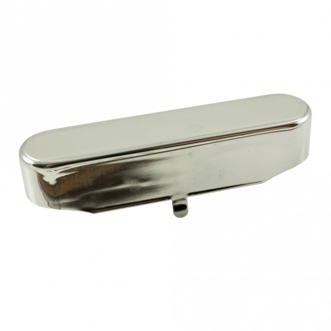 WD Music Vintage Tele Neck Pickup Cover Nickel Silver