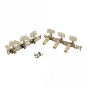 WD Classical Tuners Nickel/Pearl Button
